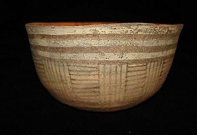 Going Out Of Business Sale! Painted Bowl With Designs Early Bronze Age~3000Bc
