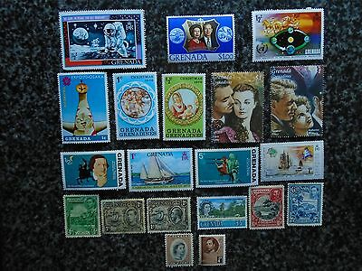Collection/mixture Of Grenada Stamps