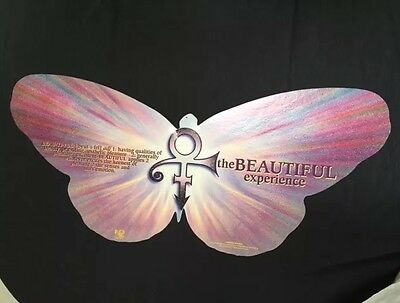 PRINCE BEAUTIFUL EXPERIENCE 1994 HUGE BUTTERFLY Mobile  Promo Poster RARE L@@K