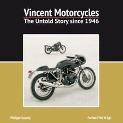 Vincent Motorcycles -The Untold Story since 1946 V-Twin Book History