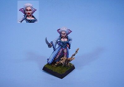 Warhammer painted miniature Female Noble (30 day listing)