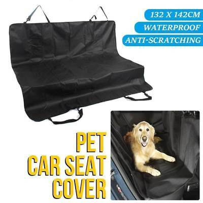 Pet Car Back Seat Cover Dog Cat Waterproof Hammock Protector Mat Blanket Black