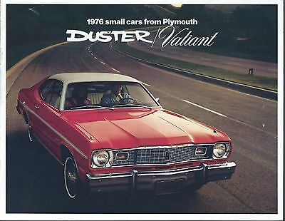 Auto Brochure - Plymouth - Duster - Valiant - Scamp - 1976  (A1092)