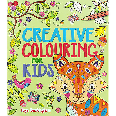 Creative Colouring For Kids (Paperback), Children's Books, Brand New