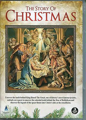 The Story Of Christmas - 3 Dvd Box Set, Star Of Bethlehem, Herod & Holy Spear