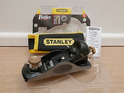 Stanley 91/2  Fully Adjustable Block Plane With Pouch 5 12 020  + Credit Card