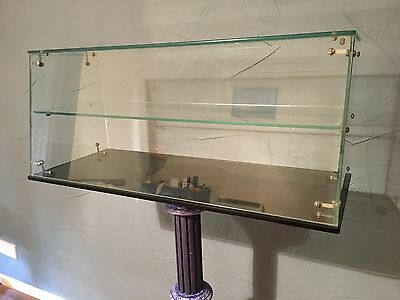 Chocolate Display Cabinet Glass Confectionary Counter top Circa 1950's CONGLETON