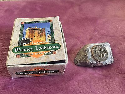 The Authentic Blarney Luckstone From Ireland Kiss & Wish Stocking Filler