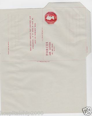 Gb Postal Stationery Forces Airletter 4D Embossed Mint  -Stamped To Order-