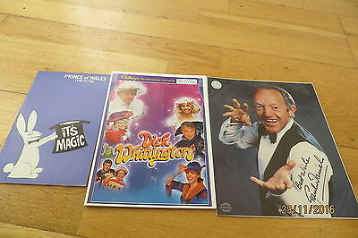 Paul Daniels Programmes x 2 + SIGNED Photograph