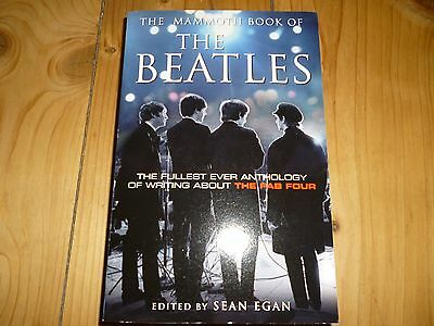 The Mammoth Book of   The Beatles by Sean Egan (Paperback, 2009)