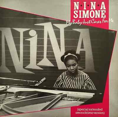 "NINA SIMONE - My Baby Just Cares For Me (12"") (EX/EX)"