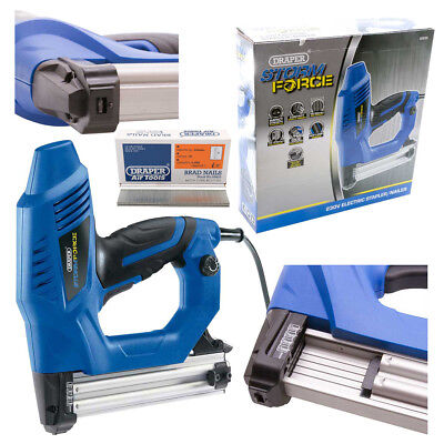 Draper Storm Force Electric Stapler/Nailer Kit with Extra 5000 Brad Nails (25mm)