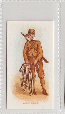 Cycle Corps - Types Of Commonwealth Forces Reproduction Card