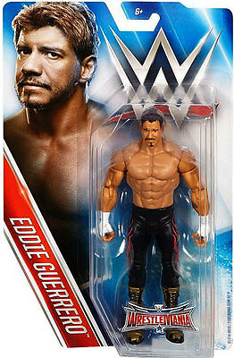 Wwe Wwf Mattel Wrestlemania 32 Series Eddie Guerrero Action Figure New Boxed!!