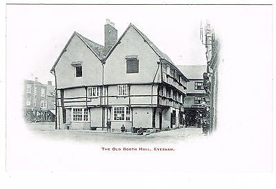 Early Un-Divided Back Postcard - The Old Booth Hall Evesham - Worcestershire