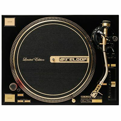 Reloop RP7000 GLD Quartz Driven Direct Drive Turntable (limited edition gold ...