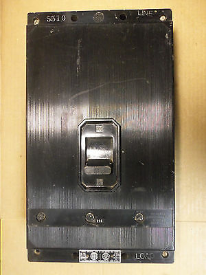 "ITE ET ""KL"" Frame 3 Pole 400 Amp Circuit Breaker with 225 Amp Trip"