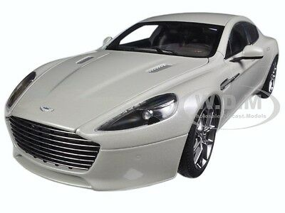 2015 Aston Martin Rapide S Silver Fox 1/18 Diecast Model Car By Autoart 70258