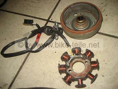 3. Kymco Agility 50 Complete Alternator, Stator With Rotor