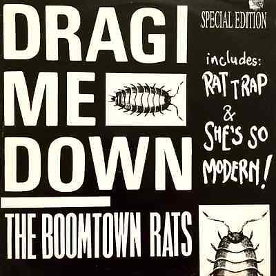 "THE BOOMTOWN RATS - Drag Me Down (12"") (VG/VG)"