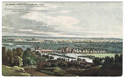 Early Postcard - Reading from Caversham in 1703 - Berkshire