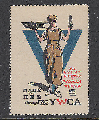 Care For Her Through The Y.w.c.a. - War Work Campaign - Cinderella