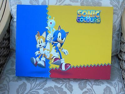 Sonic the Hedgehog canvas picture Sonic Colours