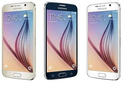 Samsung Galaxy S6 SM-G920V(Unlocked)c Smartphone Cell Phone GSM AT&T T-Mobile