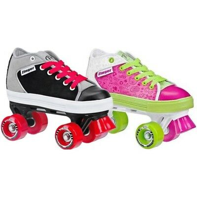 Roller Derby Zinger Junior Roller Skates - Free Stickers & Free Delivery