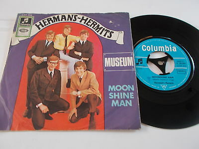Hermans Hermits Moonshine Man 45' Odeon Records  German Pressing