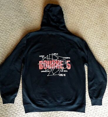 Bourne 5 Cast And Crew  Movie Sweatshirt (Large) Giveaway Promotional &
