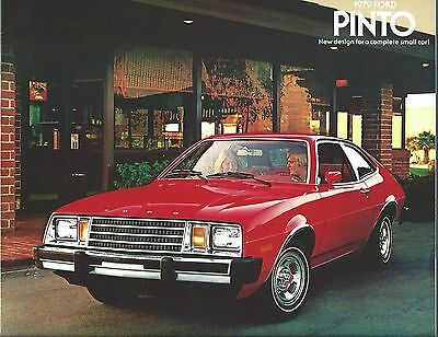 Auto Brochure - Ford - Pinto - 1979  (A1105)