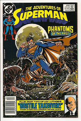 The Adventures Of Superman #453 Original Owner Collection! Mr. D Copy! Ordway!
