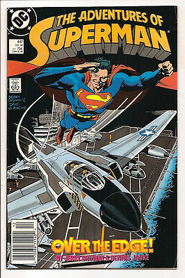The Adventures Of Superman #447 Original Owner Collection! Mr. D Copy! Ordway!