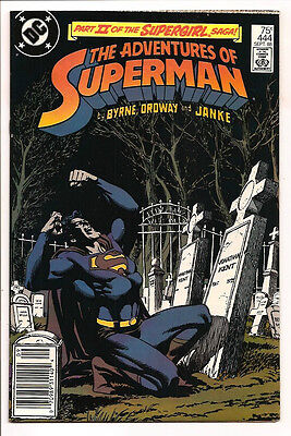 The Adventures Of Superman #444 Original Owner Collection! Mr. D Copy! Ordway!