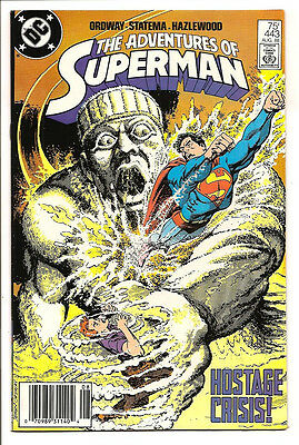 The Adventures Of Superman #443 Original Owner Collection! Mr. D Copy! Ordway!