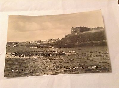 Real Photograph Postcard - Portstewart From The Sea - 1934