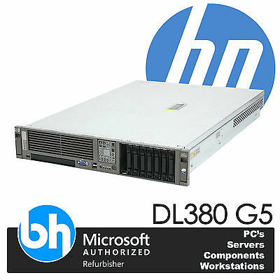 HP ProLiant DL380 G5 Núcleo Cuádruple Doble X5450 Xeon 3.0GHz 32GB RAM P400