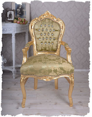 Rococo Chair Gilt  Armchair Baroque Armchair Armchair Royal