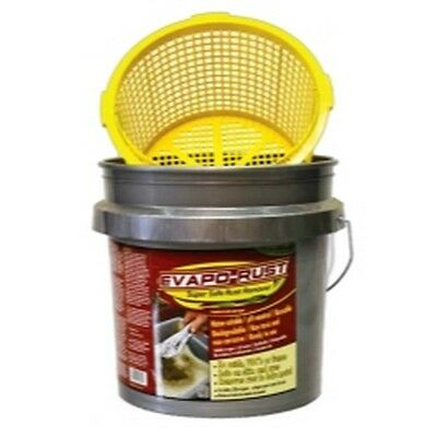 EVAPO-RUST Rust Remover With Bucket And Strainer, 3.5 Gallon EVAER018 Brand New!