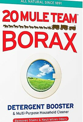 20 MULE TEAM BORAX - ONE (1) CUP - NATURAL LAUNDRY BOOSTER Sodium Tetraborate