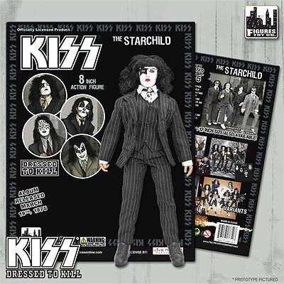 KISS Dressed To Kill 8 Inch Action Figure Paul Stanley Starchild