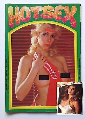 Rivista Erotica Vintage - HOTS@X - n.1 - COLLANA VERDE - Traci Lord..TRACY LORDS