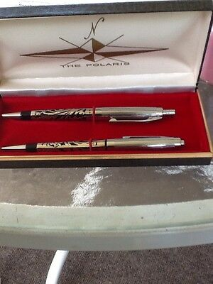The Polaris Sterling Silver Pen And Pencil Set