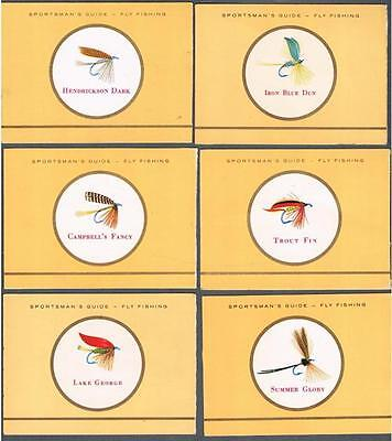 1960's ITC C272 Fishing Flies By Sportsman's Guide Tobacco Cards Lot of 24