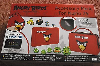 BNWT - Angry Birds Kurio7S Accessory Pack - Xmas Gift - Case, Screen Protector