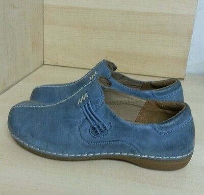 K by Clark's Women's Leather Shoes Size UK 5 Wide Fit