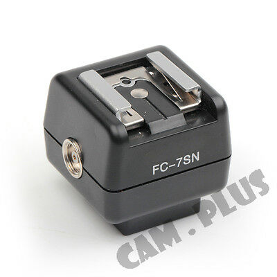 FC-7SN Hot-shoe Adapter Remote Wireless Flash Controller for Sony Konica Minolta