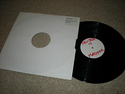 "New Order VS Madonna DJ Promo Vinyl 12"" 33rpm World VS Time"